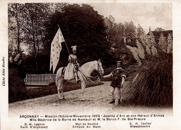 Histoire d'Arçonnay