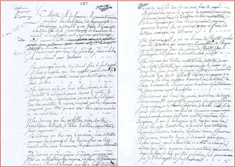 LE CAHIER DE DOLEANCES DE LA PAROISSE D'ARCONNAY