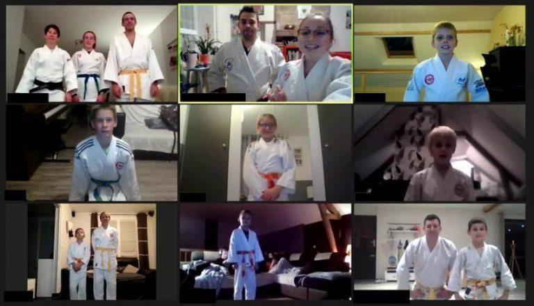 Judo, en mode visioconférence