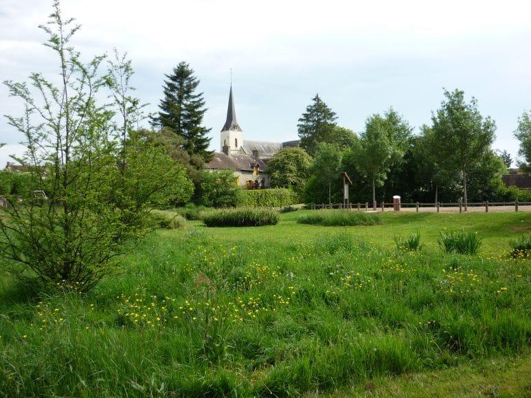 Le Parc du Gué de Gesnes au printemps et en hiver