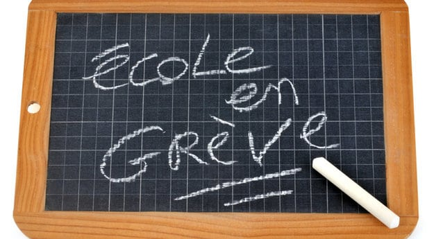 Mouvement de grève à l'école le 04/02/21 – Pas de service d'accueil