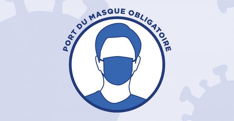 Prolongation du port du masque jusqu'au 09/06/21 en zone agglomérée