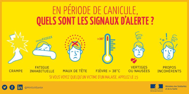 Vagues de chaleur : personnes fragiles, faites vous connaître en mairie !